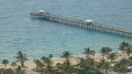 Fishing Pier in Lauderdale By The Sea